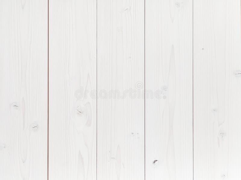 白色自然木纹理 免版税库存图片