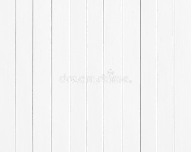 白色色的木板条纹理背景 免版税库存照片