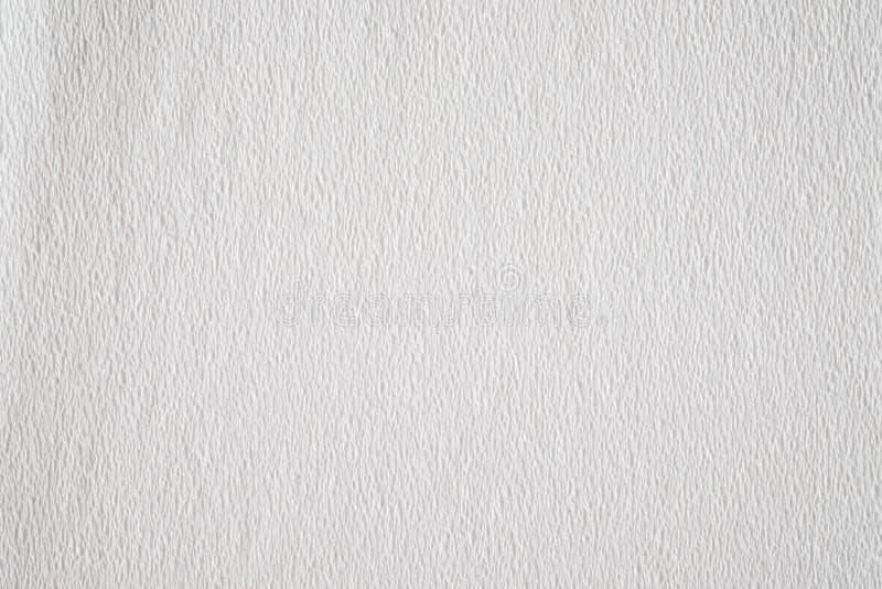 白色薄纸背景纹理 免版税库存图片