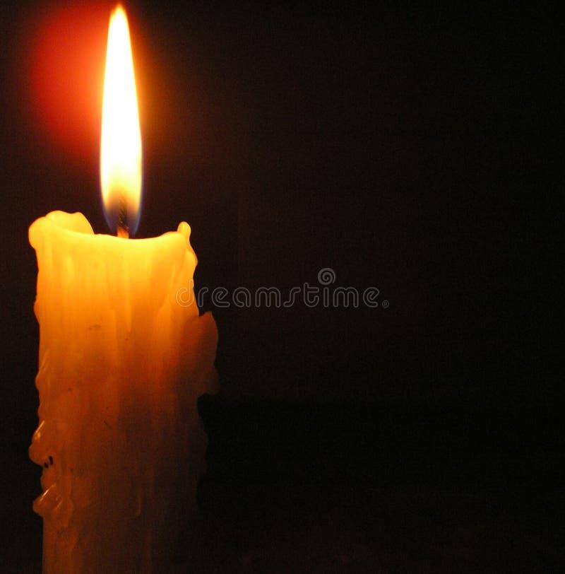 白色蜡烛 图库摄影