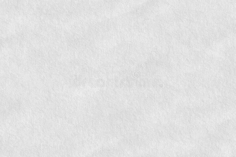 白色表面纹理纸,抽象背景 免版税库存图片