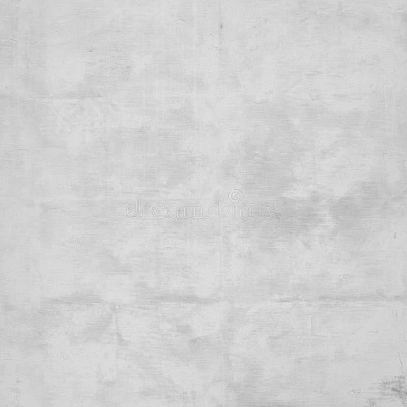 白色被弄皱的纸纹理难看的东西背景 免版税库存照片