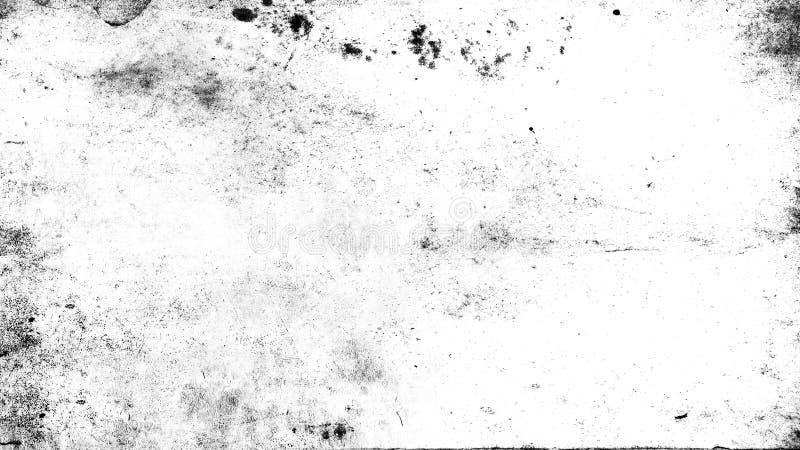 白色被抓的难看的东西背景,文本的老影片作用 免版税库存图片