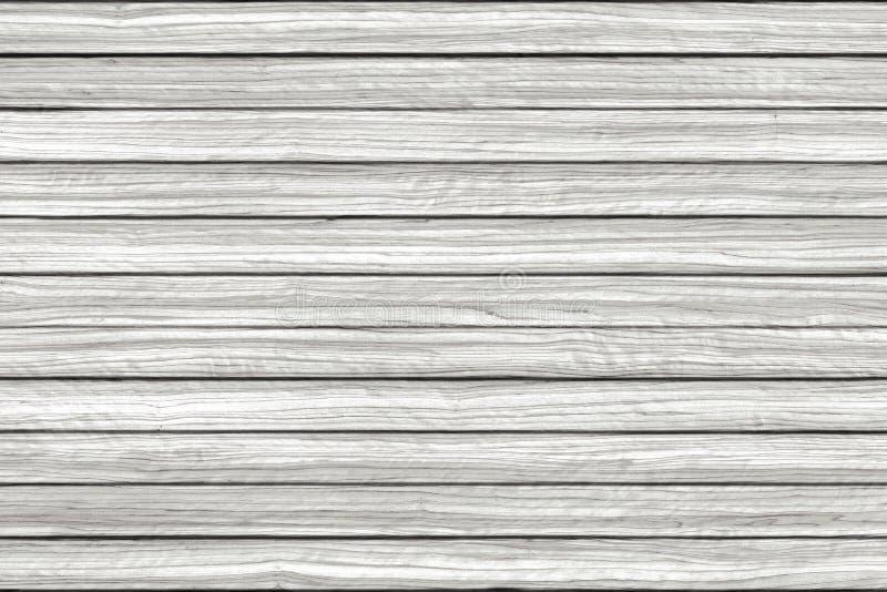 白色被洗涤的地板矿石墙壁木头样式 背景棕色树荫纹理木头 图库摄影