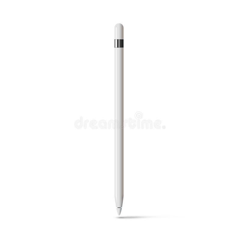 Download 白色被隔绝的片剂铁笔图表铅笔棍子 库存例证. 插画 包括有 设计员, 图象, 输入, 设备, 电容, 技艺家 - 72369196