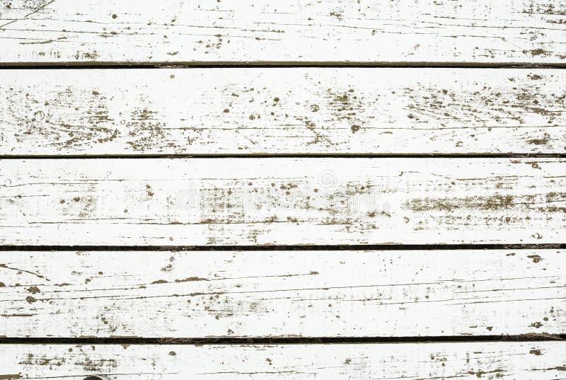 白色被洗涤的木头 库存图片
