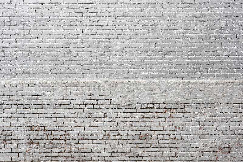 白色银色砖墙纹理背景 库存图片