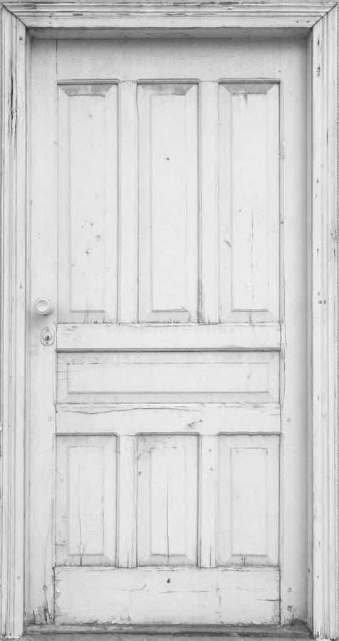 白色门 库存图片
