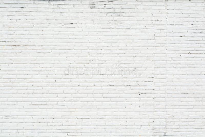 白色难看的东西砖墙背景 库存照片