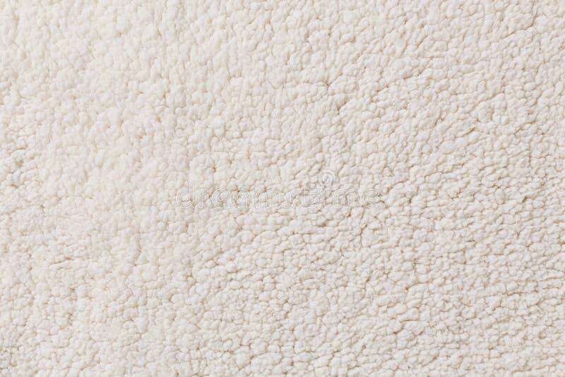白色综合性羊毛 库存照片