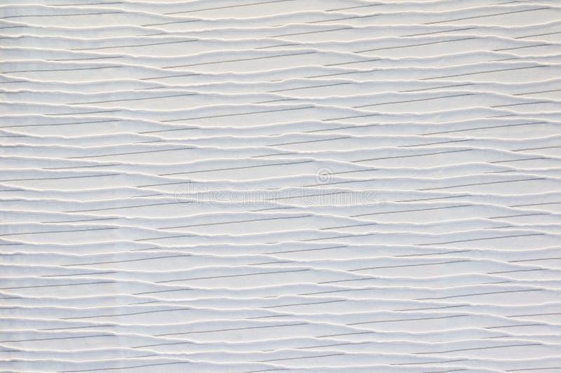 白色织品纹理背景  免版税库存照片