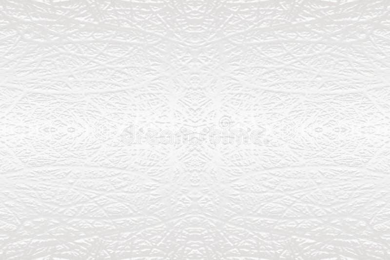 白色织地不很细被雕刻的相称背景 免版税库存图片