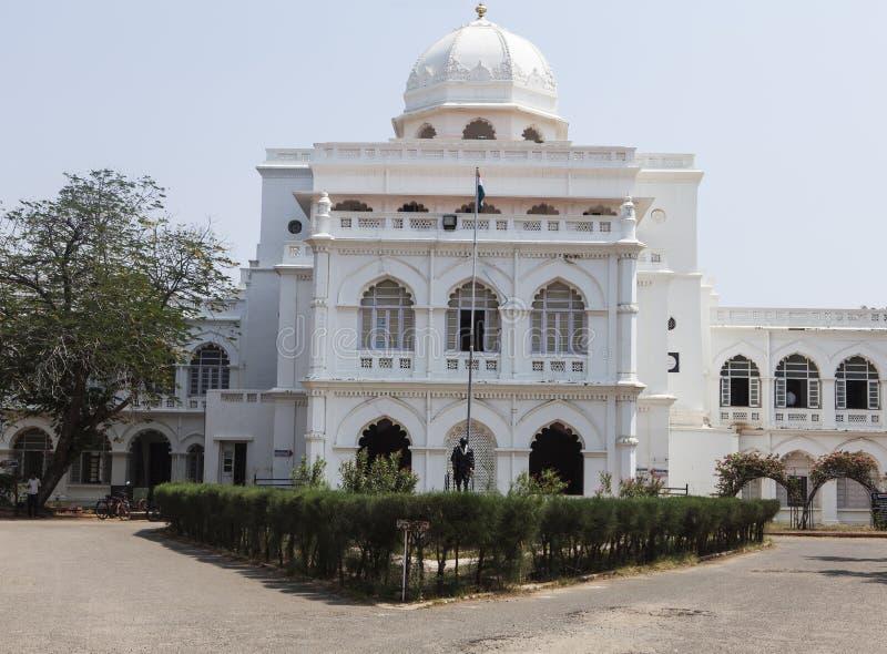 白色gandhi博物馆 库存图片