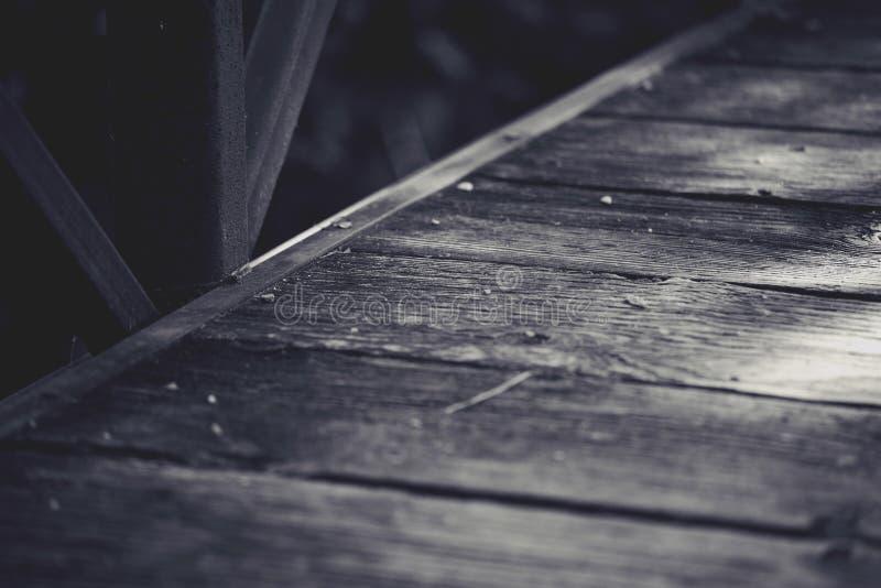 黑白走道 库存图片
