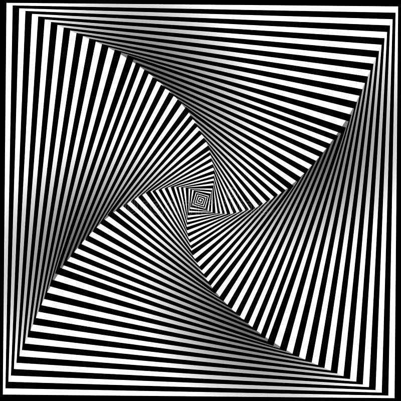黑白选择艺术背景 向量例证