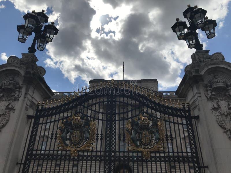 白金汉宫门,伦敦,英国伦敦,英国 库存照片