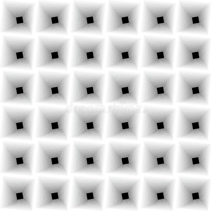 黑白错觉 库存例证