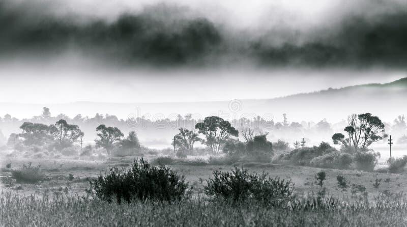 黑白风景 图库摄影