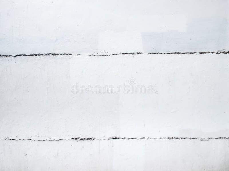 白水泥墙壁背景 免版税库存照片