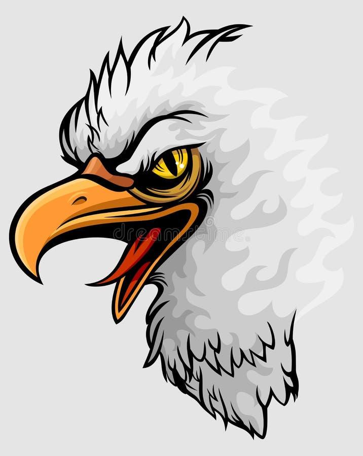 白头鹰 皇族释放例证