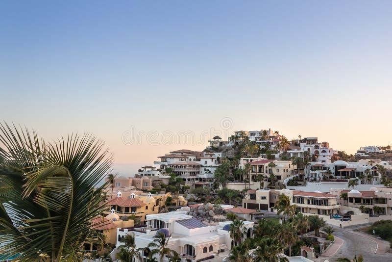 百万美元视图在Cabo圣卢卡斯 库存图片