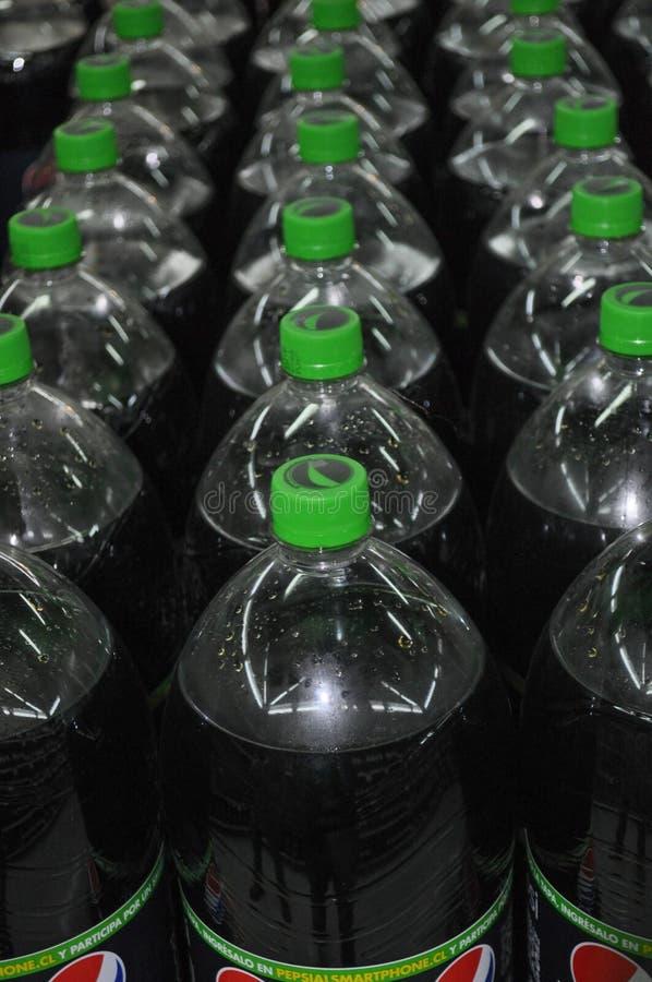 百事可乐瓶 库存图片