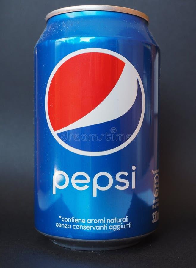 百事可乐罐头 库存图片