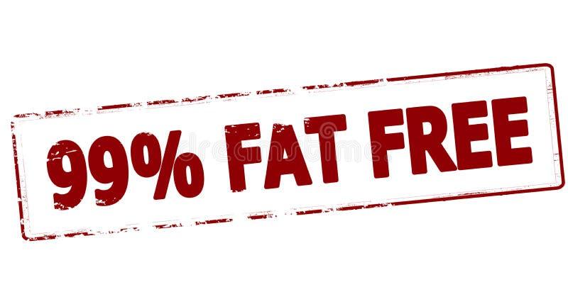 百分之九十九无脂肪 皇族释放例证