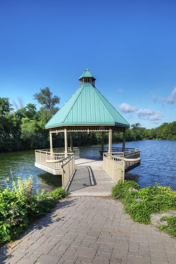 百年公园,米尔顿,安大略,加拿大 免版税库存照片