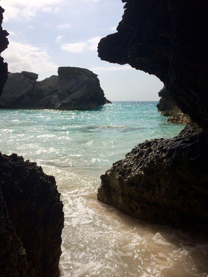 百慕大海滩 库存图片