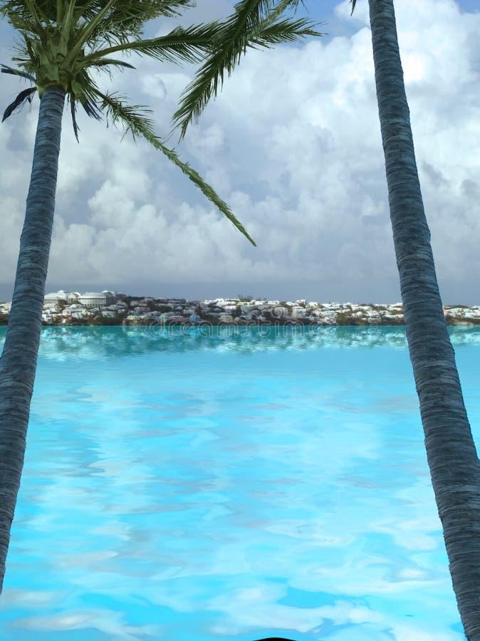百慕大 库存图片