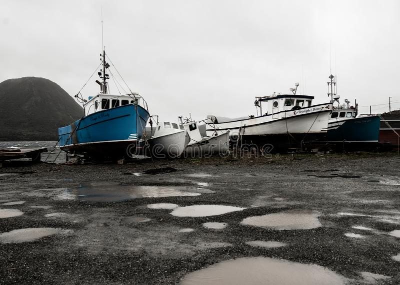 百灵港口干船坞 库存图片