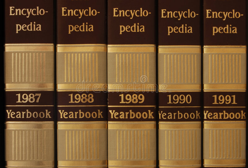 百科全书系列 免版税图库摄影