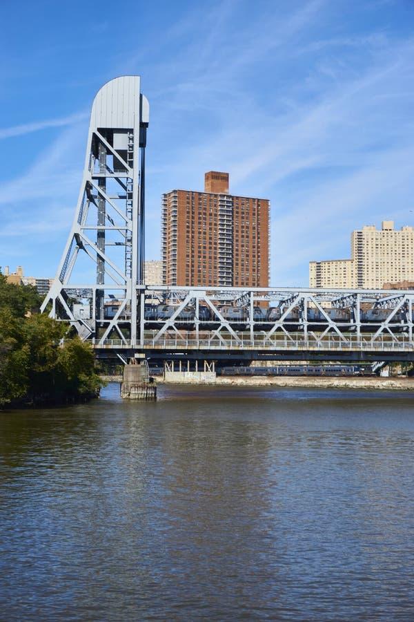 百老汇桥梁在纽约 库存图片