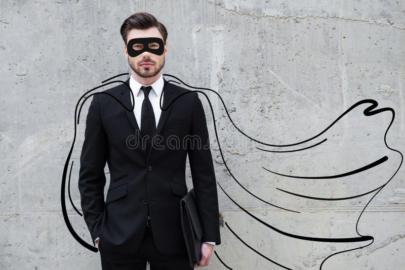 他的事务的英雄 免版税库存图片