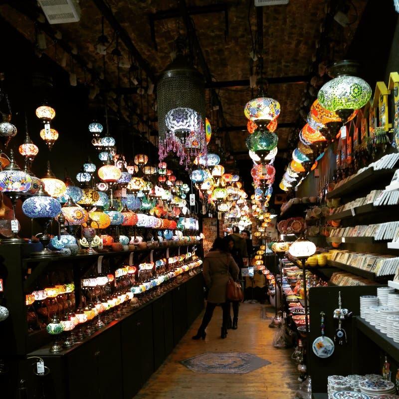 轻的商店美丽的伦敦坎登 免版税图库摄影