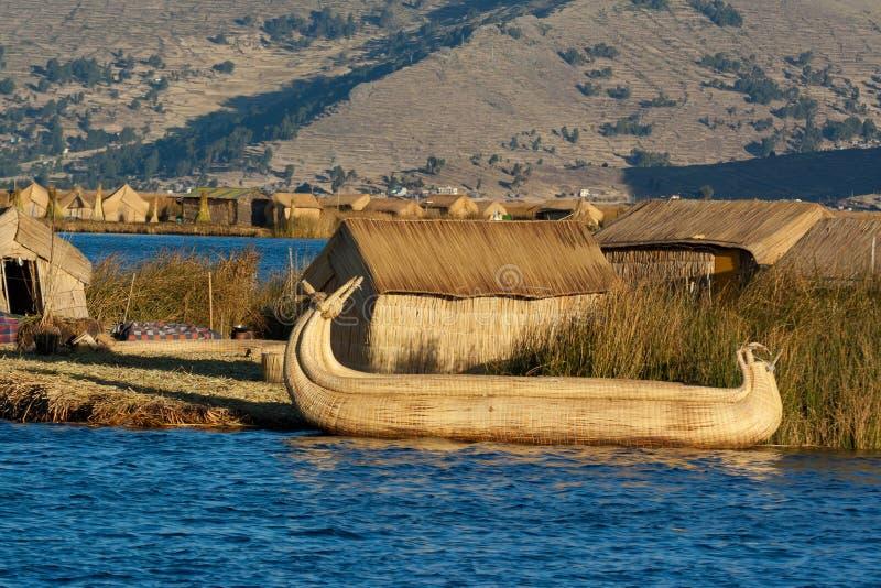 的喀喀湖 免版税库存照片