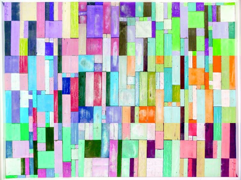 Download 的彩虹和垂直多色木的片断和在bac的六片树荫 库存照片. 图片 包括有 楼层, 字符, 谷物, 内部, 五颜六色 - 72353712