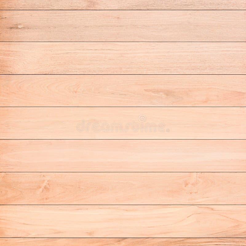 轻的木板条纹理 库存照片