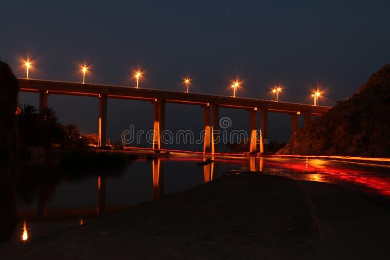 轻的桥梁 库存图片