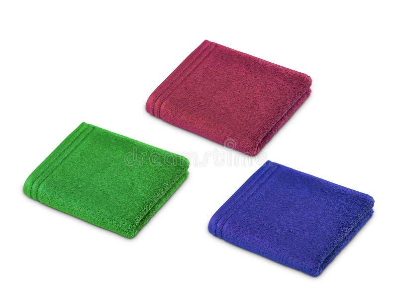 滚的毛巾 免版税库存图片