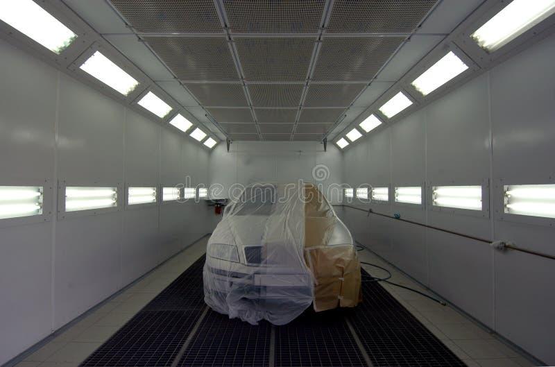 绘的汽车的房间 库存图片