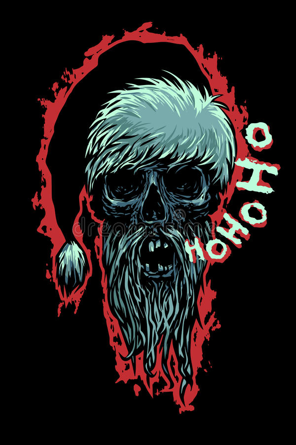 死的莫罗兹说Ho Ho Ho! 皇族释放例证
