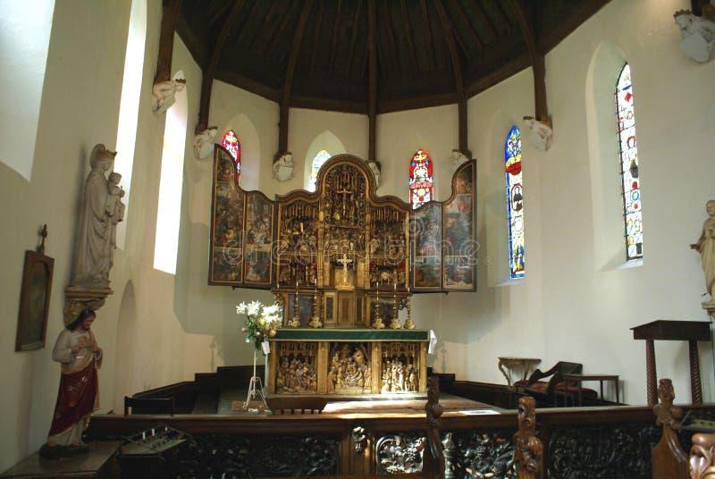 的被按字母排的 圣玛格丽特和我们的夫人教堂在Oxborough,英国 免版税图库摄影
