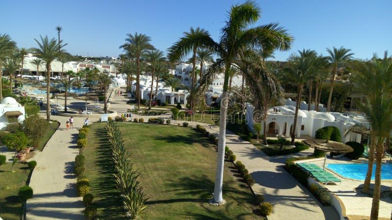 皇家假日海滩渡假胜地和娱乐场 免版税库存照片