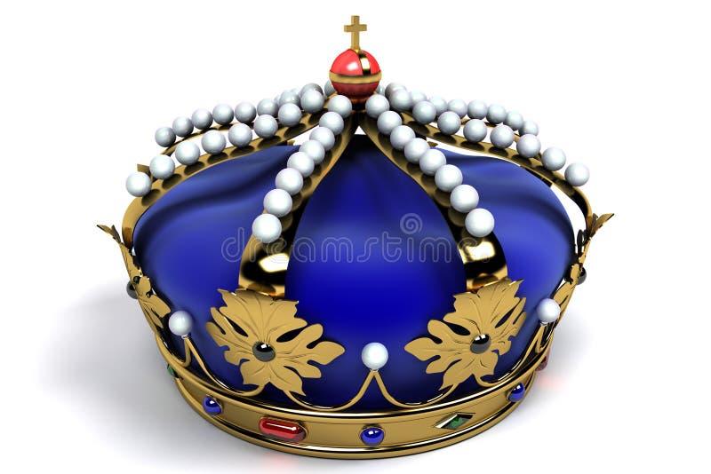 皇家冠 皇族释放例证
