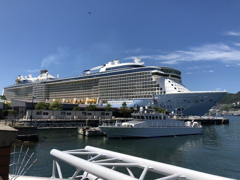 皇家加勒比巡航 免版税图库摄影
