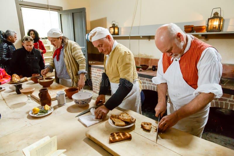 皇家厨房Kew宫殿 库存照片