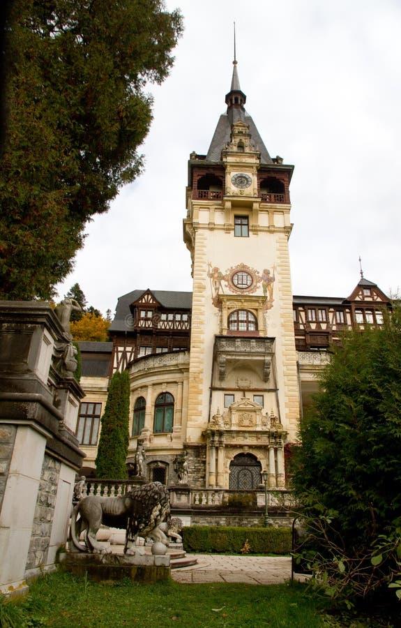 皇家城堡的peles 免版税图库摄影