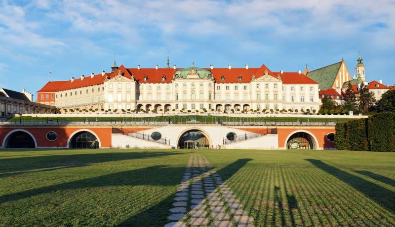皇家城堡,华沙 图库摄影